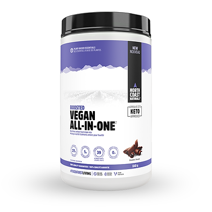 North Coast Naturals Boosted Vegan All-In-One 840g
