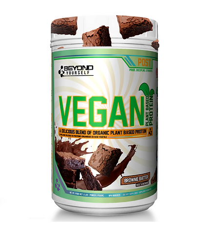 beyond yourself vegan organic plant based protein powder