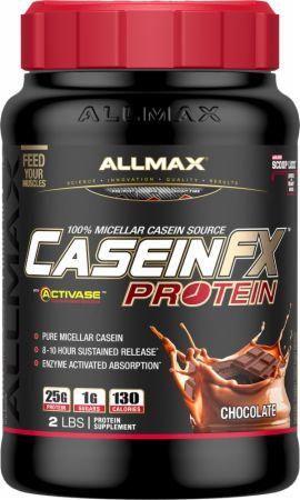 allmax 2lb caseinFX 100% micellar casein source protein powder