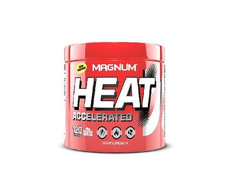 magnum nutraceuticals 120 capsules heat accelerated energy thermogenic fat burner
