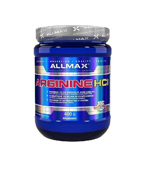 allmax 400g arginine hcl precursor nitric oxide, growth hormone release
