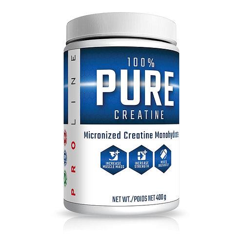 Pro Line Nutrition 100% pure monohydrate creatine 400g