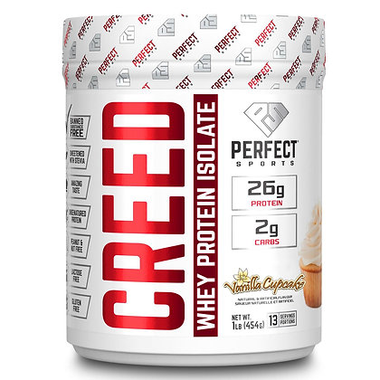 Titan Perfect Sports Creed Whey Protein Isolate 1lb