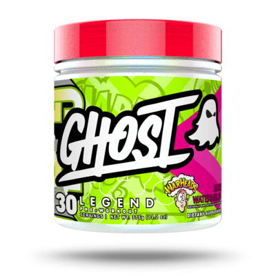 Ghost Legend Warheads sour watermelon pre-workout powder