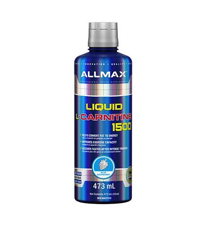 Allmax Liquid L-carnitine 1500 Blue Raspberry flavour