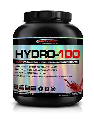 Pro Line Advanced Nutrition Hydrolyzed Whey Protein 4.5lb Hydro-100