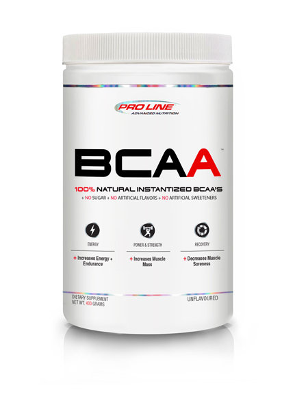 pro line advanced nutrition natural instantized bcaa with no sugar and no artificial flavours and sweeteners