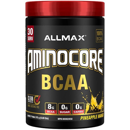 allmax aminocore bcaa 30 servings