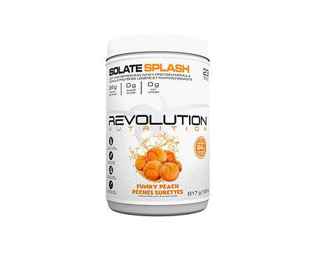 revolution 1.8lb whey isolate splash candy flavoured