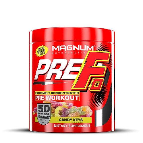 magnum nutraceuticals prefo pre-workout
