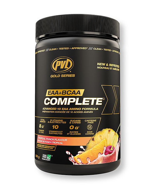 pvl eaa and bcaa complete with added nootropics and electrolytes