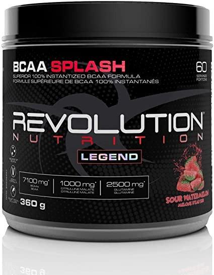 revolution legend bcaa splash candy flavoured added citrulline and glutamine