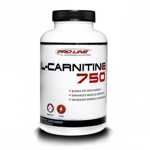 Pro Line advanced nutrition l-carnitine 750 fat burner