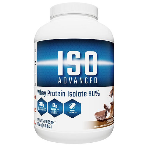 Pro line nutrition iso-advanced 5lb whey isolate protein powder
