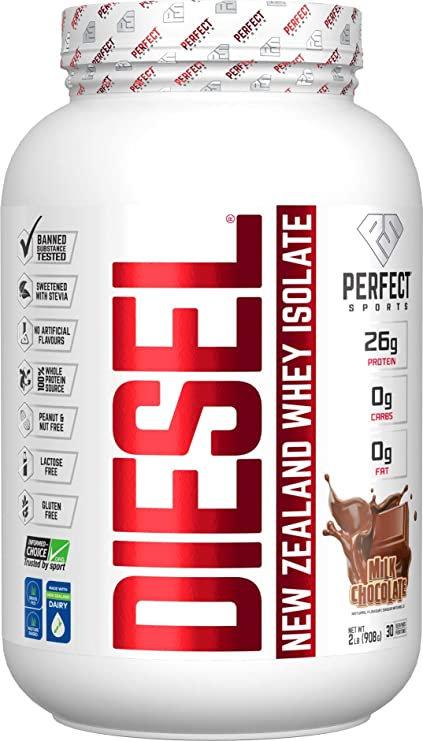 perfect sports titan 2lb diesel new zealand whey isolate protein powder
