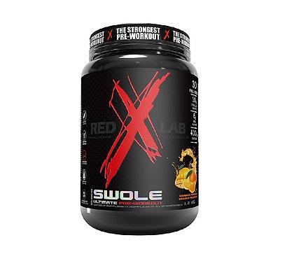 red x lab 1.2kg swole pre-workout