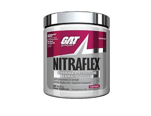GAT Sports Nitraflex Fruit Punch Pre-Workout powder