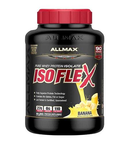 allmax 5lb isoflex pure whey protein isolate powder