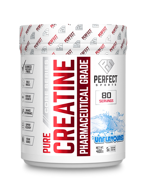 perfect sports titan 400g unflavoured creatine monohydrate