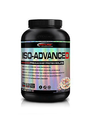 Pro Line Advanced Nutrition 2lb Iso-Advanced Whey Protein Isolate