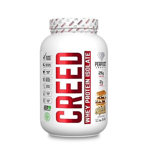 perfect sports titan 1.6lb creed whey isolate protein powder