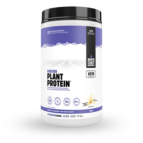 North Coast Naturals Boosted Plant vegetarian Protein powder