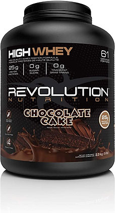 Revolution 5lb High Whey Protein