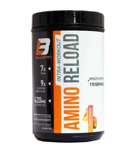 ballistic lab amino reload 110 servings bcaa eaa and electrolytes