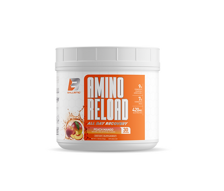 ballistic labs 30 servings amino reload bcaa eaa and electrolyte intra-workout drink mix