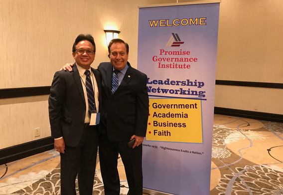 Atty Ramon Ocampo and Dr. Mike McKinney