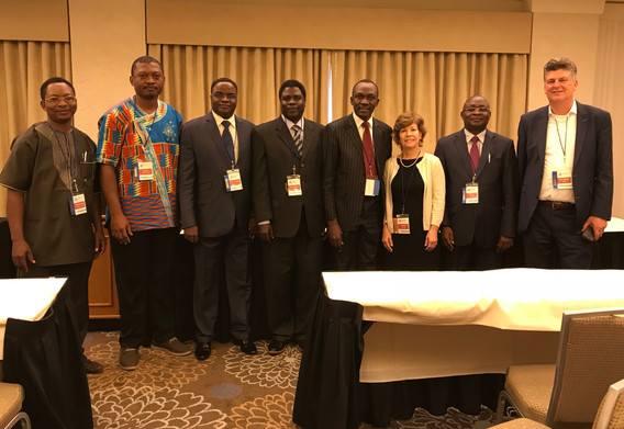 Delegates from West Africa