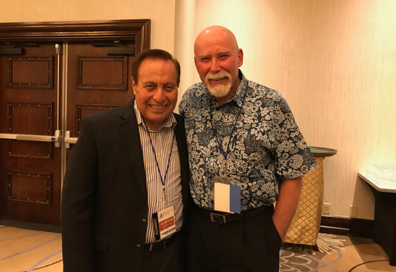 Dr. Mike McKinney and Dr. Bruce Porter