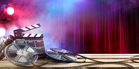 Film movie Background - Clapperboard And