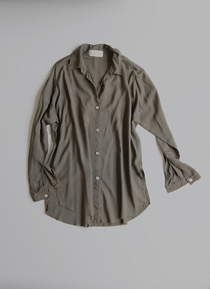 Olive green buttoned shirt