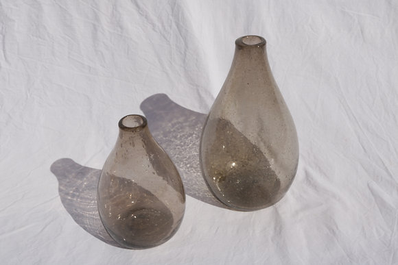 Brown raw vase No. 2
