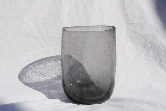 Grey raw glass
