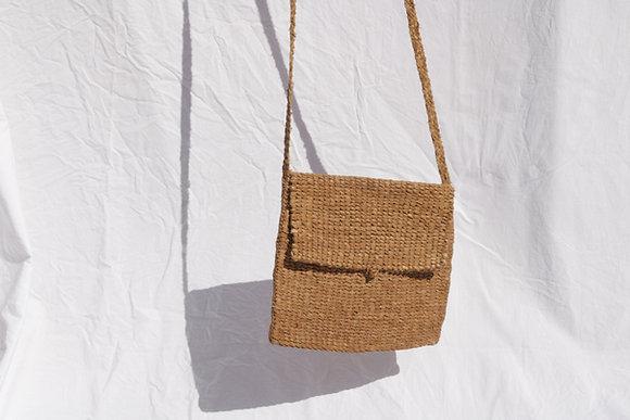 Shalateen raw leather bag