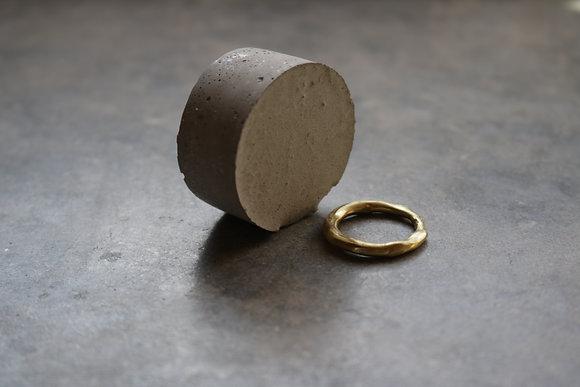 Raw copper ring No.4