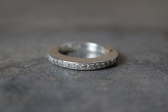Diamond embellished ring