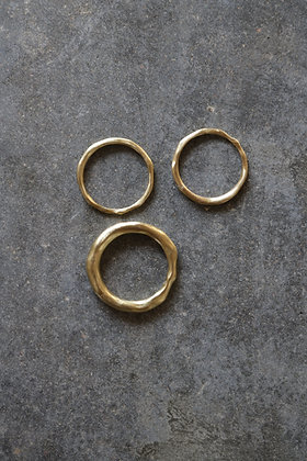 Raw copper ring No.1