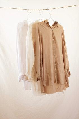 Sand buttoned shirt