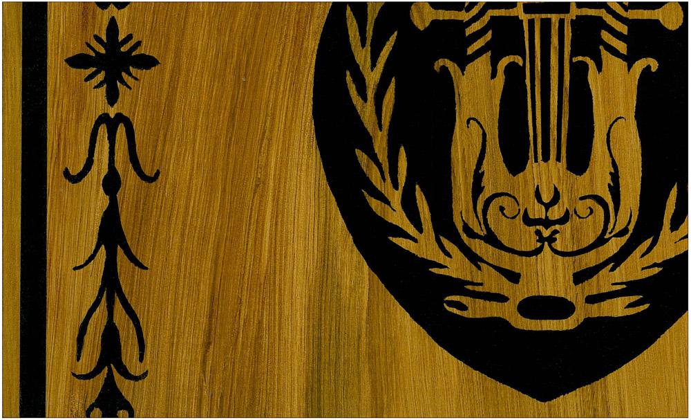 Stencil floor detail
