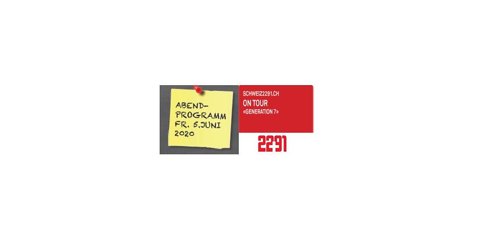 "Abendanlass Schweiz2291.ch ""Generation7"""