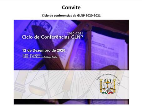 Ciclo de Conferências da GLNP 2020 - 2021   3º Conferência
