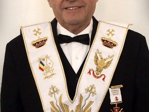 Partiu para Oriente Eterno o Muito Ilustre Irmão Dumitru TUCAN, 33º, do Supremo Conselho da Roménia
