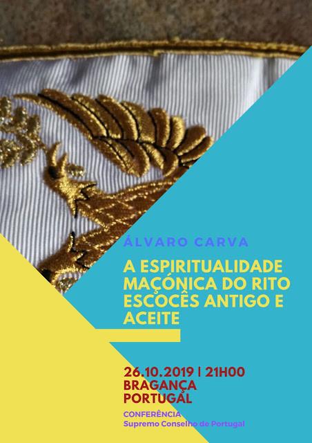 CONFERÊNCIA |  A Espiritualidade Maçónica do Rito Escocês Antigo e Aceite | Álvaro Carva