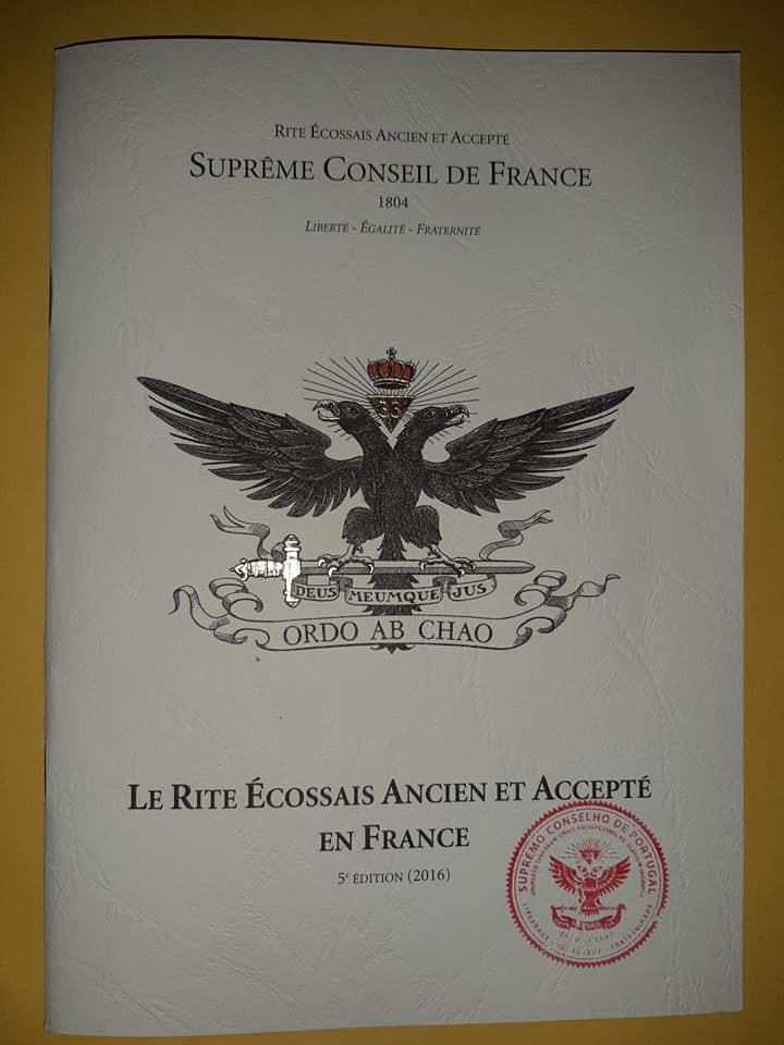 Le Rite Écossais Ancienet Accepté en France | Suprême Conseil France | Biblioteca do SCdPortugal