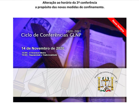 Ciclo de Conferências GLNP 2020-2021 | 2º Conferência
