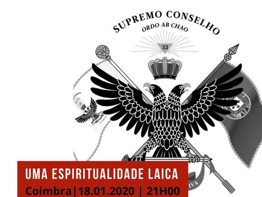 Conferência - Uma espiritualidade laica | Álvaro Carva | Coimbra