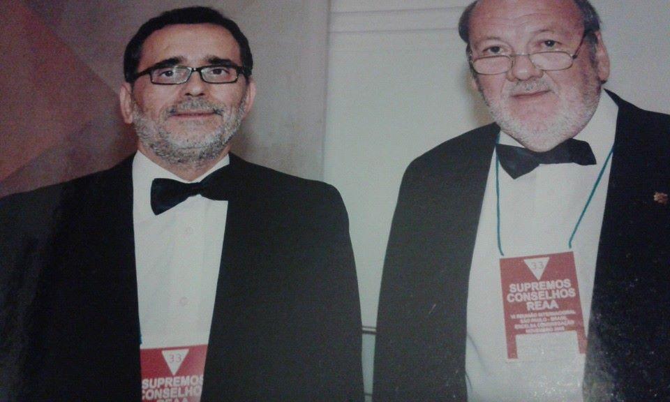 I e II Soberanos Grandes Comendadores do Supremo Conselho de Portugal | Imagem